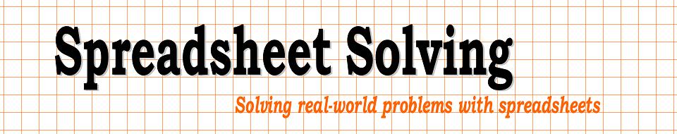 SpreadsheetSolving