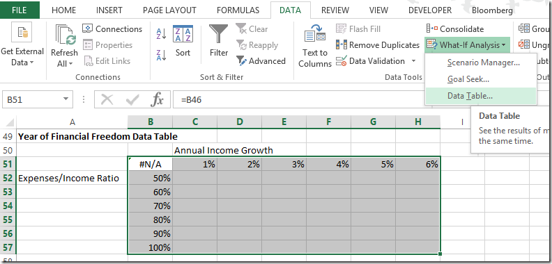build a personal finance spreadsheet model spreadsheetsolving